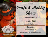 Annual Craft and Hobby Show