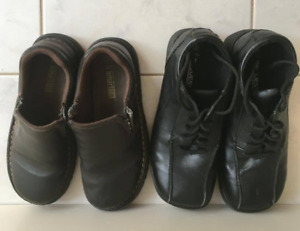 Boys leather  running shoe-Size 13 and other shoes-size 3& 6