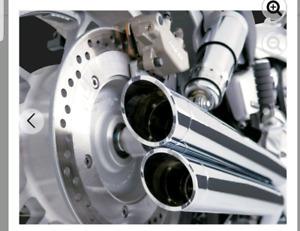 Vance & Hines Big Shots exhaust Honda VTX1800C/F 2002-2008