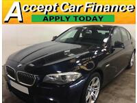 BMW 520 2.0TD 2013MY d M Sport FROM £62 PER WEEK!