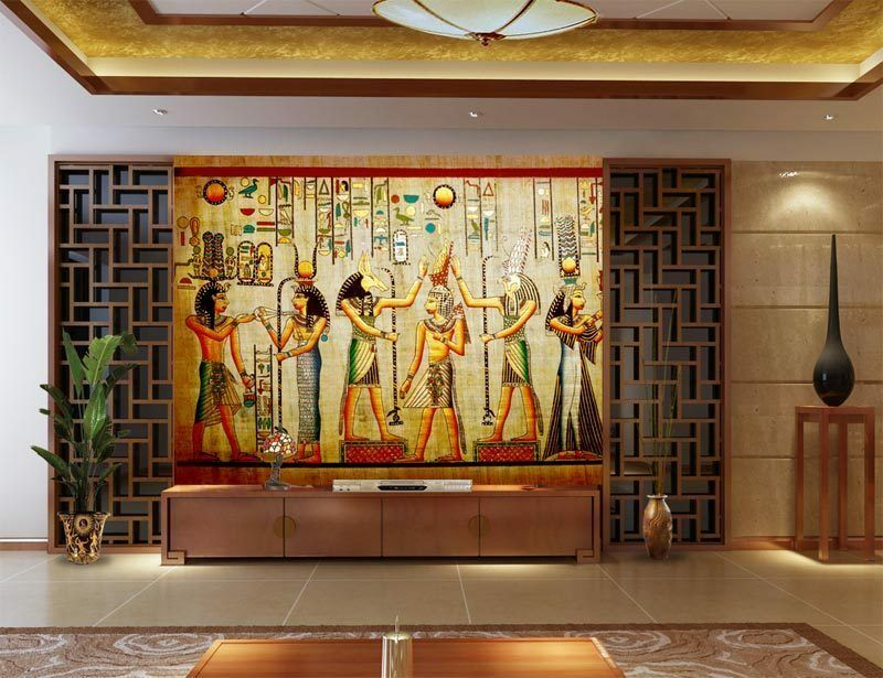 3d ancient egyptian history full wall mural photo for Egyptian wall mural