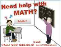 MATH tutor _<-==PAY ONLY IF YOU LIKED A CLASS==->_