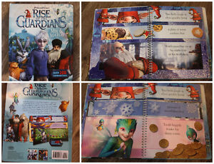 LIKE NEW RISE OF THE GUARDIANS MIX & MATCH BOOK