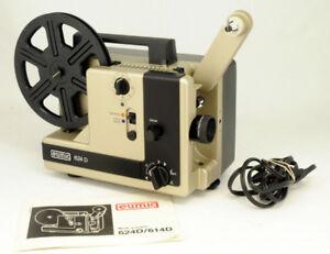 EUMIG 624D PROJECTEUR CINÉMA SUPER 8 ET 8mm FONCTIONNEL