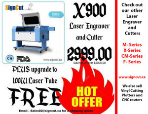X900 Laser Engraving and Cutter sale