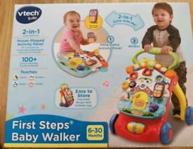 BRAND NEW First Steps Baby Walker