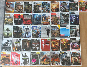 Wii Games - $2 each or 5 for $5