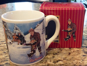 "Tim Hortons ""Skating Pond"" Collector Mug - NEW!"