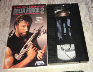 Delta Force 2 Chuck Norris VHS Cult Action Martial Arts (1990)