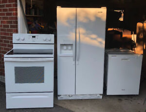 Appliances for sale - whirlpool $1100 set - 4 years old