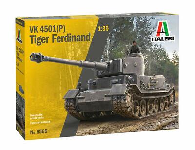 Italeri Vk 4501 P Tiger Ferdinand Tank 1:3 5 Kit 6565