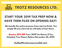2019 Tax Returns
