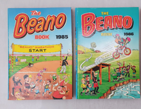Vintage Beano comic book annuals from the 1980s #2