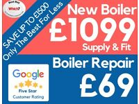 Worcester, Vaillant & BAXI Installed! Full Package Deal/Boiler Installation/Replacement/Swap/Repair