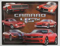 Camaro 45th Anniversary Metal Sign