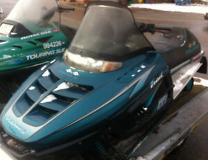 1996 Polaris Indy Trail with 2019 OFSC trail pass