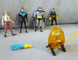 Batman Animated Series - Action Figures - Toys - Batmobile lot
