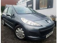 PEUGEOT 207 S 8V Grey Manual 1.4 Petrol, 2010