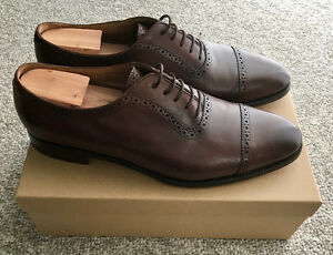 Meermin Goodyear Welted Burgundy Cap Toe Oxfords made in Spain