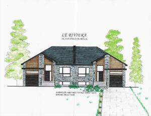 Maison neuve à vendre à Carignan et St Bruno projet GÉOTHERMIE