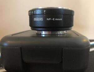 Metabones Nikon G Lens to Sony E-mount Camera Lens Adapter