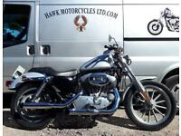 AMAZING 2004 HARLEY DAVIDSON XL883 UPGRADED TO 1200 BY HARLEY DAVIDSON ,9342 MIL