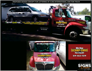 we buy scrap cars for cash same day removal