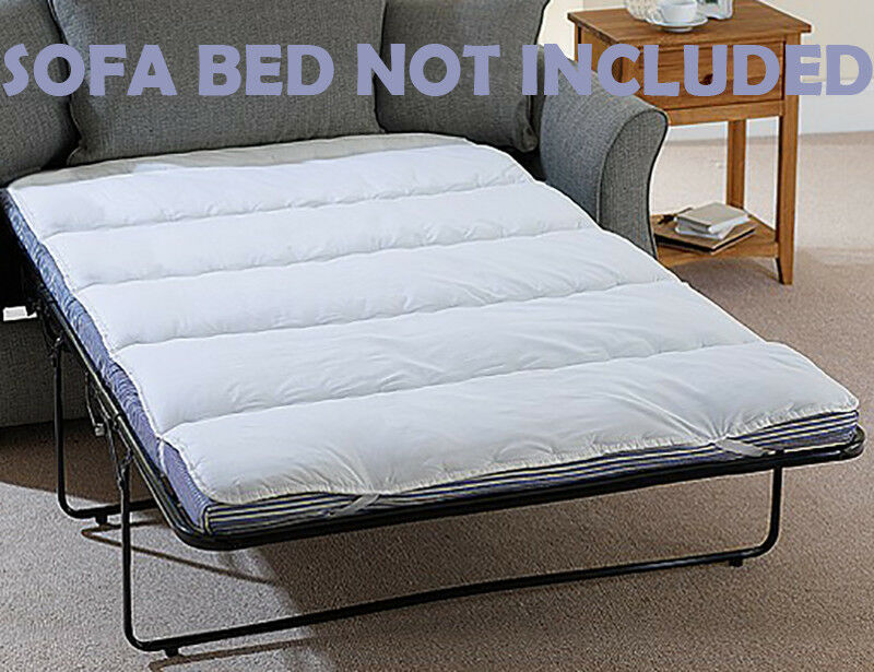 Mattress Topper Small Double Sofa Pull Out Bed Single Bunk Size Fitted Sheet Ebay