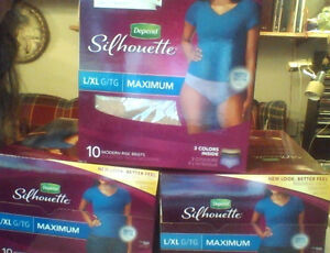 DEPEND SILHOUETTE disposable underwear