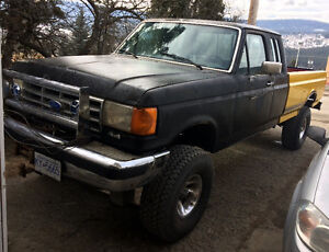 Lifted 1987 Ford F-150