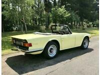 1971 Triumph TR6 Convertible - Stunning Restoration - RESERVED