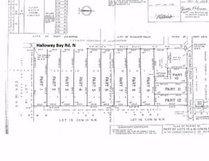 12 lot roll numbers 46.19 acre on Niagara Falls/Fort Erie Border
