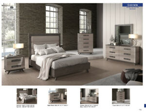 Showroom SALE!!! NEW!! Gabrielle bedroom set, Italy