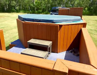 Valley Ridge hot tub rentals