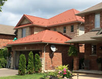 Metal Roof 50 year warranty - no more shingles