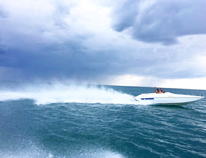 For Trade or Sale***1996 Scarab Speed Boat -18ft