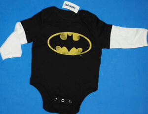 NEW WITH TAG - BATMAN ONESIES 100% COTTON 3-6mo BABY