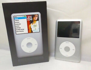 80GB Apple iPod Classic   • Silver