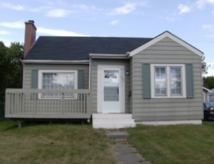 2 B/R  1 Bath house for rent Fundy Heights