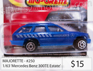 -MAJORETTE #250 'Mercedes Benz 300TE Estate/Station Wagon'-