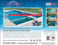 Automatic safety pool cover