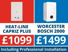 GREAT BOILERS FROM £999/BOILER INSTALLATION/REPLACEMENT PACKAGE DEALS/ WORCESTER,VAILLANT,IDEAL