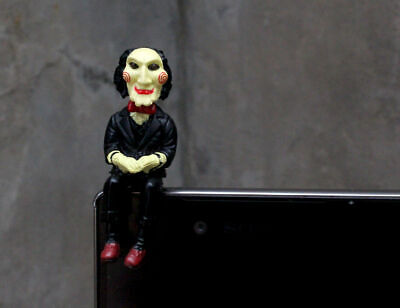 SAW Jigsaw HOT movie  Puppet Doll Anti Dust JACK Cap Cellphone accessories - Saw Doll