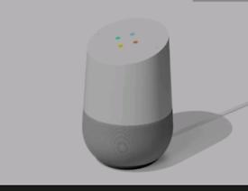 Google home. White