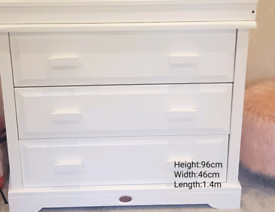 SOLD BARGAIN BOORI 3 DRAWER DRESSER WITH CHANGING STATION: RRP £699