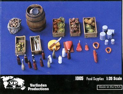 Verlinden Productions 1:35 Food Supplies - Resin Details #1005