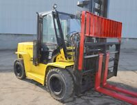FORKLIFTS * HYSTER XL2 yr 2005*TOYOTA Pneumatic COMPANY CLOSING