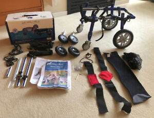 Walkin' Wheels Small Pet Wheelchair with Quad Cart Front End