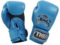 Top king Boxing gloves and free skipping rope