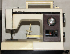 Kenmore convertible free arm sewing machine, complete w/ stand. Kitchener / Waterloo Kitchener Area image 1